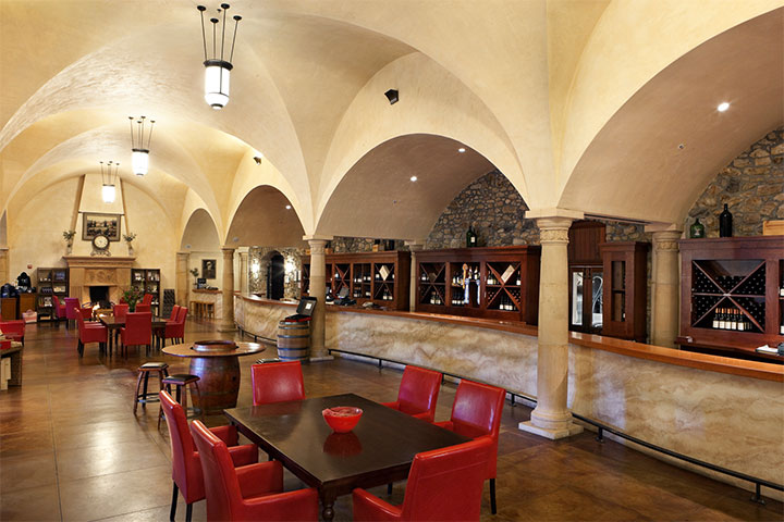 Sebastiani Tasting Room in Sonoma California