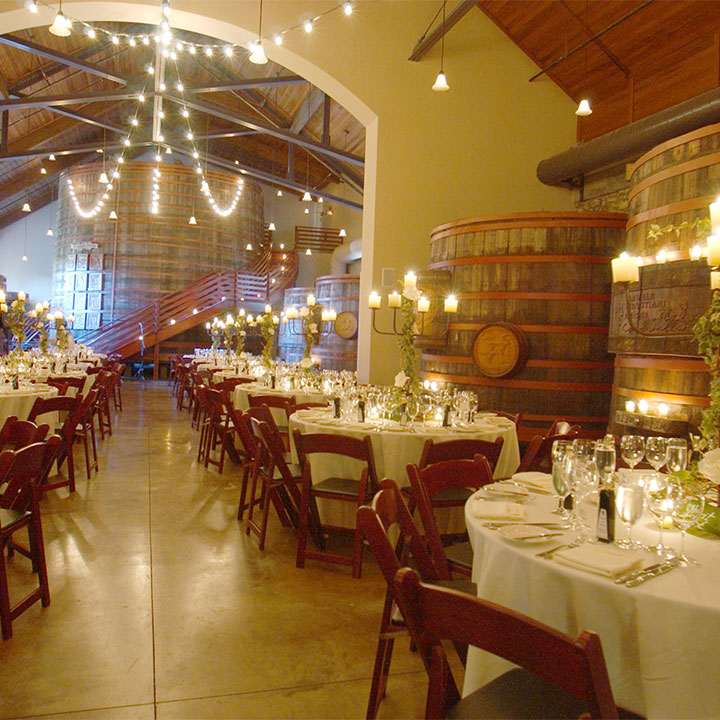Host an Event in the Historic Barrel Room at Sebastiani