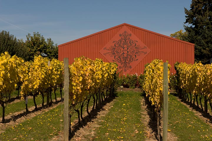 The Four Graces Winery in Oregon