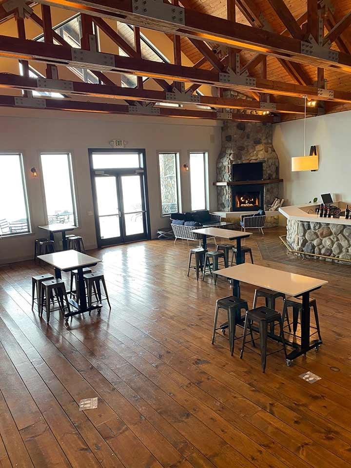 Now offering indoor tastings at Three Rivers Tasting Room