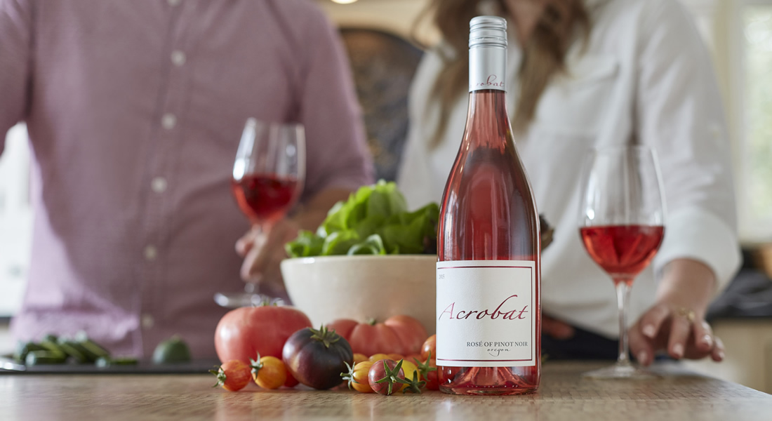 Acrobat Rose Wine