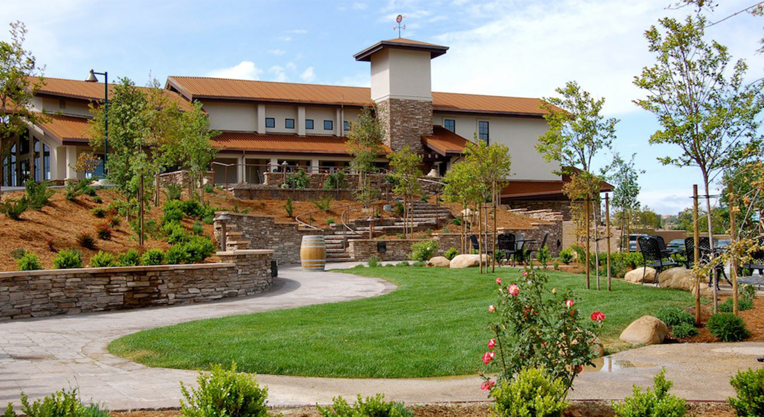Eos Winery Front View