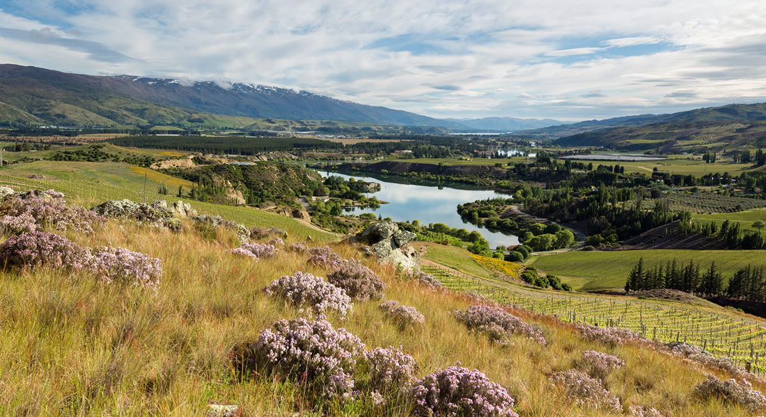 View of the Central Otago Valley